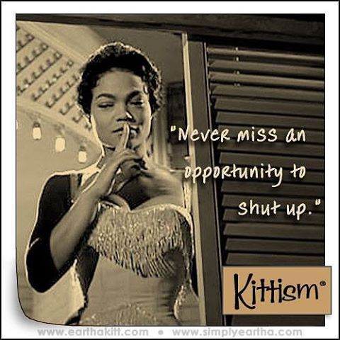 d49b0c2c40bab3f873204306087de059--eartha-kitt-quotes-words-quotes