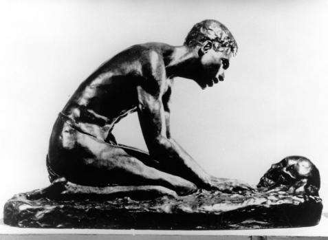 The Talking Skull, 1939, Bronze