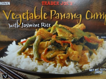 vegetable panang curry