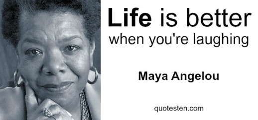 Maya Angelou Quote about Life
